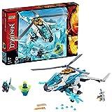 LEGO Ninjago - Shuricóptero, Set de construcción de Helicóptero Ninja de juguete, Incluye dos Samurais de juguete (70673)