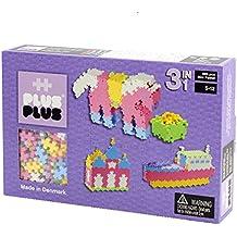 Plus-Plus - 52128 - Jeu éducatif de construction  - Mini Pastel 3-en-1 - 480 Pièces