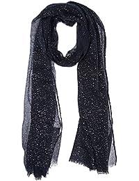 Naf Naf 10 Umeteo, Pañuelo para Mujer, Azul (Bleu Marine), Talla Única
