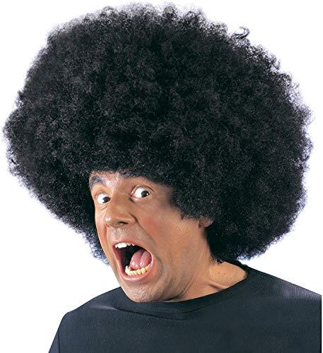Widmann 6108j - parrucca afro, taglia unica, colore: nero