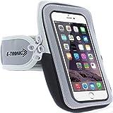 Beito Funda para teléfono móvil con correa para el brazo con cremallera/funda para ejercicios de entrenamiento para Apple