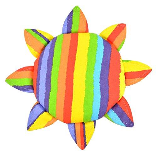 (Kinder Tuch Weiche Frisbee Leinwand Handgemachte Frisbee Outdoor Spielzeug-C)