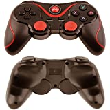Intsun Manette de Jeu sans fil Bluetooth Rechargeable Wireless Game Controller Batterie Lithium Intégré Manette Pro pour PC/Smartphone/ Tablette/Smart TV/ TV box /Android / iOS(Jailbreak) - Noir