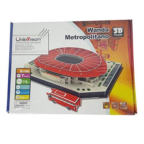 UniteDream 3D Puzzle Wanda Metropolitano Stadio