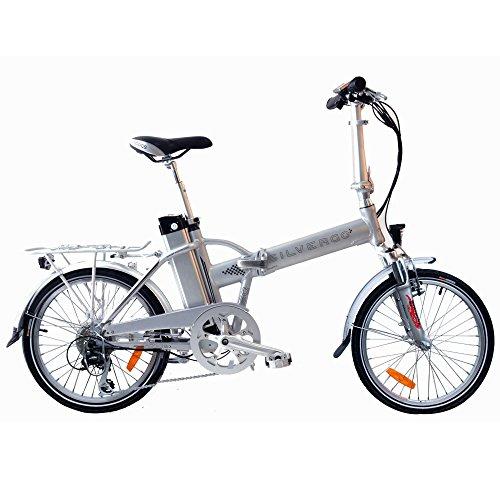 Preisvergleich Produktbild AGOGS SilverGo 20 Zoll Elektrofahrrad faltbares Cityrad mit Alurahmen Bafang Motor H-type, 36V/250W (500W max) SONY Konion V3 Hi-power 36V/11Ah 530Wh XL Akku MicroSHIFT Mezzo 8 Gang Schaltung E-Bike Pedelec
