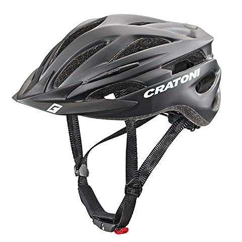 Cratoni Pacer Helmet black matt Kopfumfang S/M | 54-58cm 2017 mountainbike helm downhill