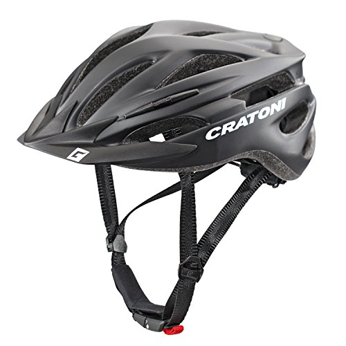 Cratoni Pacer Helmet black matt Kopfumfang L/XL | 58-62cm 2017 mountainbike helm downhill