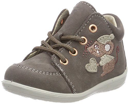 RICOSTA Baby Mädchen PRISJA Sneaker Grau (Meteor 460) 24 EU