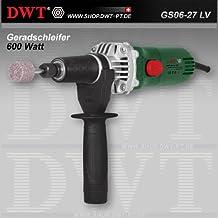 DWT Amoladora recta 600W con regulador de velocidad y accesorios–GS06–27LV