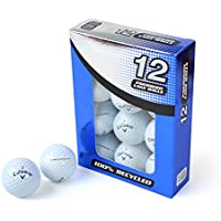 Second Chance Callaway Hex Chrome Grade A Premium Lake Golf Balls (Pack of 12)