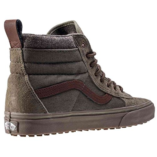 Vans Sk8-Hi Mte Dx, Sneakers Hautes Mixte Adulte Ivy Green/Dark Gum