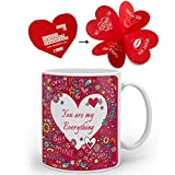 Best Anniversary Gifts For A Girlfriends - indibni You Are My Everything Best Quality Coffee Review