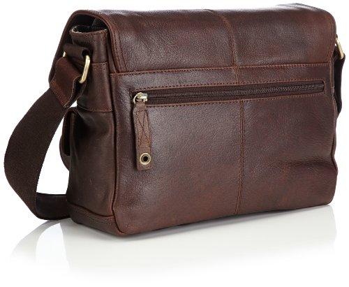 Bruno Banani Shoulder bag small, Sacs messenger Marron - Braun (braun)