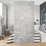 Panel japones Shabby concrete look 250x120cm | paneles japoneses separadores de ambientes cortina paneles japoneses cortina cortinas | Tamaño: 250 x 120cm sin soporte