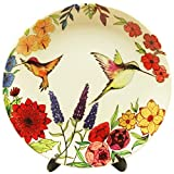 #10: KOLOROBIA Humming Bird Floral Beauty Inspired Home DÉCOR Wall Plate 10