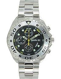 Reloj hombre Chrono acero inoxidable gooix analógico GX01102500
