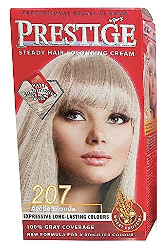 Vip's Prestige - Crème colorante pour cheveux blond arctique N207
