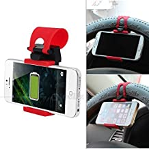 """Soporte volante coche para smartphone Iphone 6 plus 5.5"""""""
