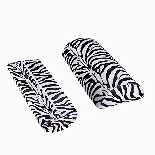 Xiton Cebra Stripe Mano Resto Suave cojín Almohada
