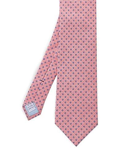 Stenstroms Hommes imprimés cravate en soie petit point Multi Couleur