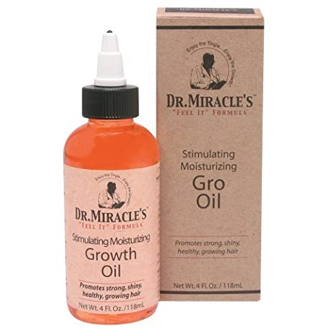 Dr. miracle' S Feel It Formula, Strengthen Daily Moisturizing Gro Oil, 4 g by Atlas Supply Chain Consulting Services [Beauty] (English Manual)