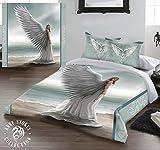 Wild Star@Home Anne Stokes Bettwäsche-Set für Doppelbetten, Motiv Spirit Guide