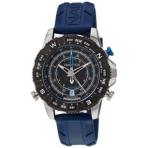 nautica-homme-46mm-bracelet-silicone-bleu-quartz-cadran-noir-montre-nai20005g