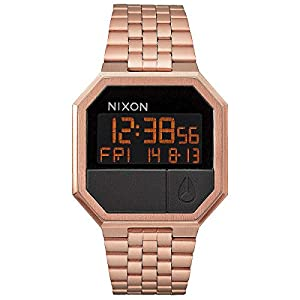 Nixon Herren Armbanduhr 'Re-Run' (A158) Farbe: All Rose Gold