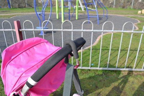 My Buggy Buddy MBBCLIPPK Kinderwagen Clip rosa Limitierte Auflage