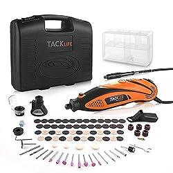 Tacklife RTD35ACL Advanced Multifunktionswerkzeug mit 80 Zubehör und 4 Aufsätze zum beliebten Allrounder für Hand- und Heimwerker, Inkl. Schutzhaube