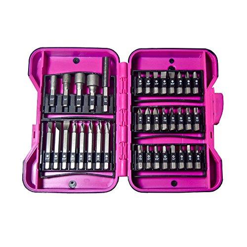 The Original Pink Box pb37bit Schrauber Bit Set