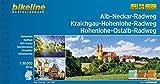 Alb-Neckar-Weg Kraichgau-Hohenlohe-Radweg Hohenlohe-Ostalb-Weg (Bikeline Radtourenbücher)