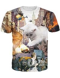 uideazone - T-shirt - Homme -  Argenté - XX-Large
