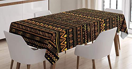 hdecke Chevron Zigzag Kreise Und Spiralen Zeitloses Vintage Unikat Art Design Oriental Doodle Esszimmer K Uml Sup1 Che Tisch Rechteckig Multicolor 52 X70 ()