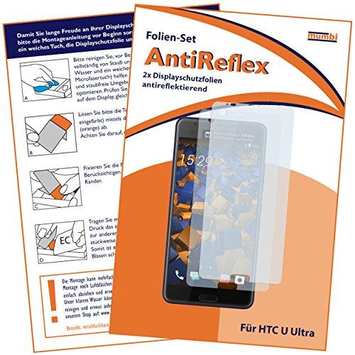 mumbi Schutzfolie kompatibel mit HTC U Ultra Folie matt, Bildschirmschutzfolie (2x)