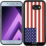 SilikonHülle für Samsung Galaxy A5 2017 (SM-A520) - Amerikanische Flagge by Tom Hill