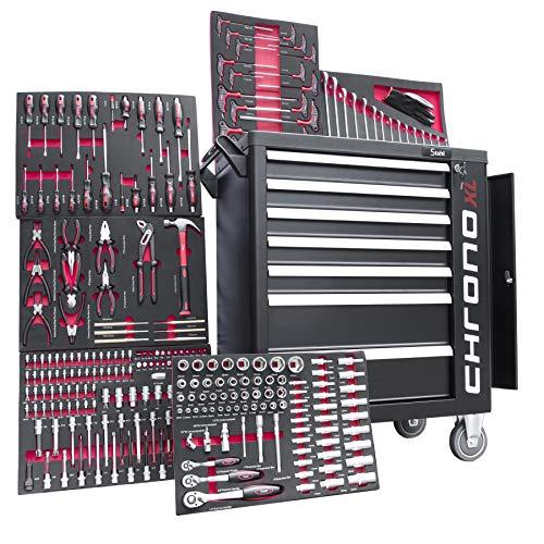 Werkstattwagen 6 von 7 Schubladen gefüllt mit Werkzeug Werkzeugwagen