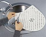 WENKO Universal Spülmatte - zuschneidbar für runde und eckige Spülbecken