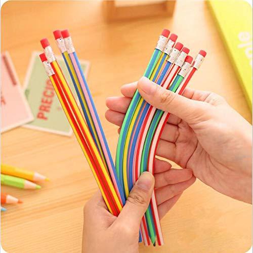 Iaywayii 5pcs / Lot DIY Flexible Flexible lápiz Suave