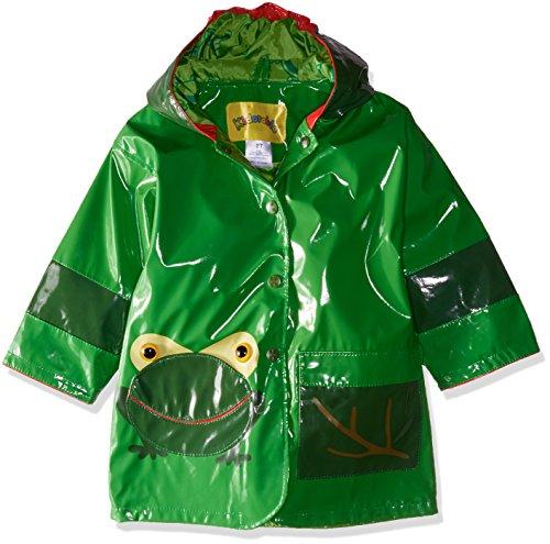 Kidorable Originale di Marca Cappotto Di Pioggia Rana Adorabile per bambini, ragazze, ragazzi ... (110-116 cm)