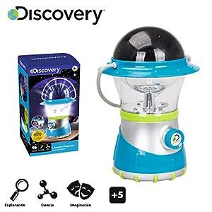 Discovery Lámpara proyector, Proyector Infantil, Proyector de Estrellas, Linterna para niños, Juguetes para niños