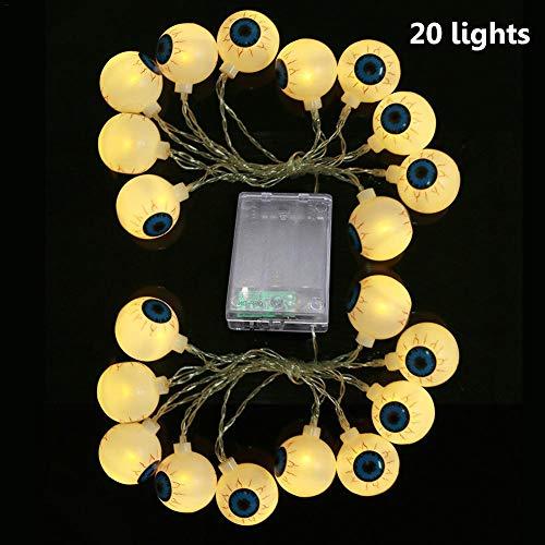 LED Schnur Dekoratives Licht, LED Augen Form Licht Halloween Party Beleuchtung,Garten Hochzeit Party Halloween Weihnachten