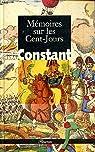 Mémoires sur les Cent-jours par Constant
