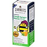 Zarbee's - Children's Cough Syrup + Mucus Reducer Nighttime Natural Grape Flavor