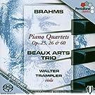 Piano Quartets (Beaux Arts Trio, Trampler) [Sacd/CD Hybrid]