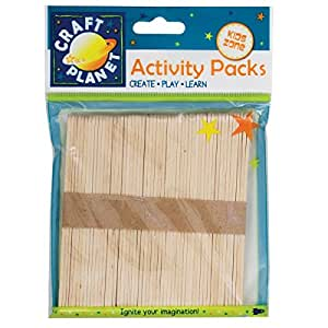 Bag A Natural Lollipop Sticks (50 pcs)