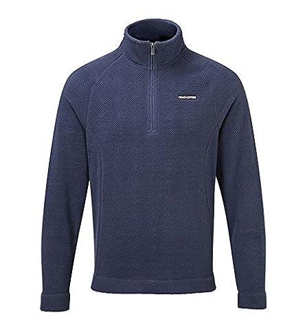 Craghoppers Herren Wainton Halb Zip Fleece Top (XL) (Staub Blau)