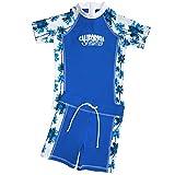 FEDJOA Jungen Schwimmanzug mit UV-Schutz 50+ - Französische Design - Waïmea