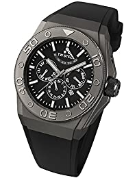 TW Steel Herren-Armbanduhr XL CEO TEC Automatik Analog Kautschuk TWCE5001