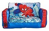PEGANE Canapé lit Gonflable Spiderman en Polytser - Dim : 26 x 68 x 105 cm...